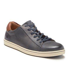 Born Men's Ahsram Leather Sneaker in blue, size 10